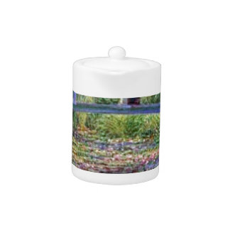 The Water Lily Pond by Claude Monet Teapot