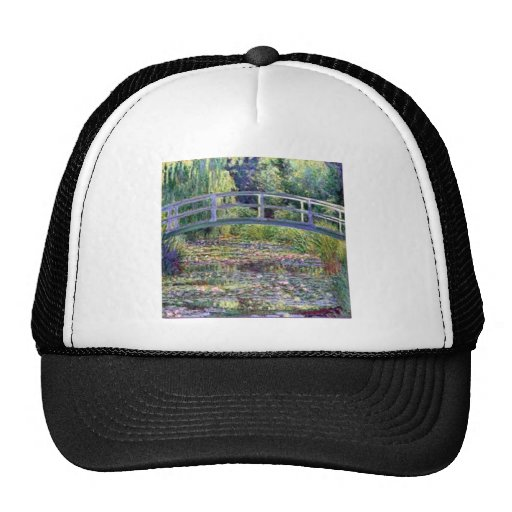 The Water Lily Pond by Claude Monet Trucker Hat