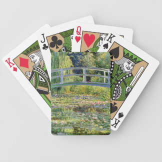 The Water-Lily Pond by Monet Fine Art Bicycle Playing Cards