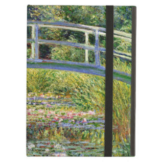 The Water-lily Pond By Monet Fine Art Ipad Air Case at Zazzle