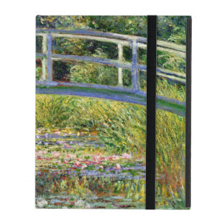 The Water-Lily Pond by Monet Fine Art iPad Case