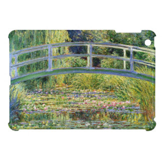 The Water-Lily Pond by Monet Fine Art iPad Mini Cases
