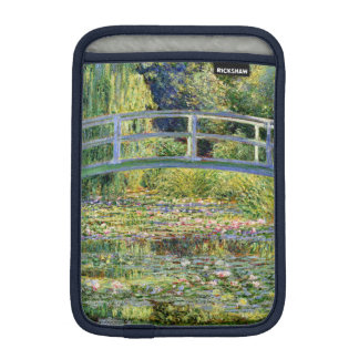 The Water-Lily Pond by Monet Fine Art Sleeve For iPad Mini