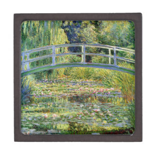 The Water-Lily Pond by Monet Fine Art Jewelry Box