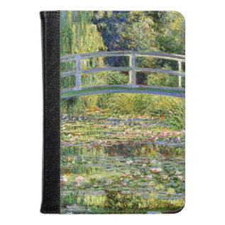 The Water-lily Pond By Monet Fine Art Kindle Case at Zazzle