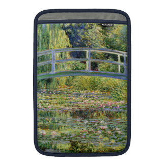 The Water-Lily Pond by Monet Fine Art MacBook Air Sleeve