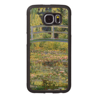 The Water-Lily Pond by Monet Fine Art Wood Phone Case
