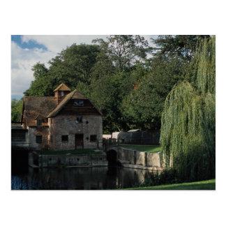 The Water Mill, Mapledurham, Oxford, England, U.K. Postcard