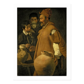 The Water Seller of Seville, c.1620 (oil on canvas Postcard