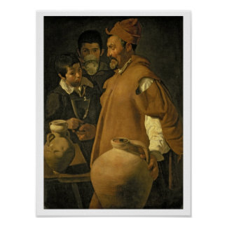 The Water Seller of Seville, c.1620 (oil on canvas Poster