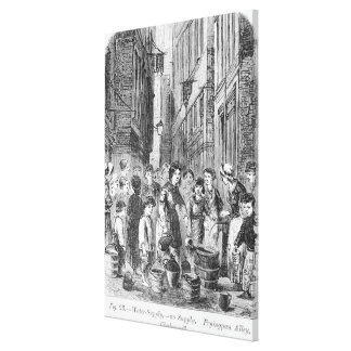 The Water supply in Fryingpan Alley Canvas Print