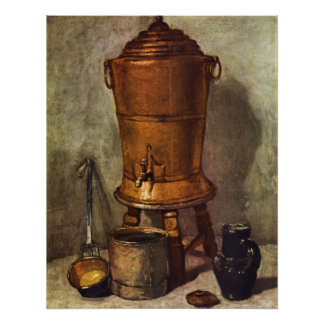 The water tank by Jean Chardin Print
