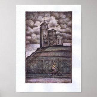 The Water Thing at Bracebridge Heath Print