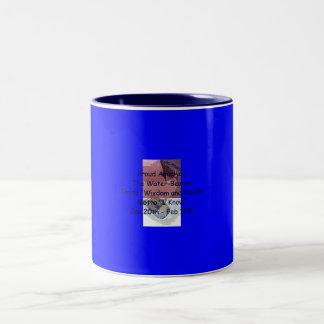 The WaterBearer Aquarius Two-Tone Coffee Mug