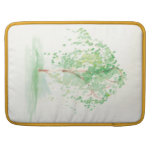 """The Watercolor Willow 15"""" Mac Book Pro Sleeve Sleeves For MacBook Pro"""