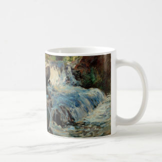 The Waterfall by John Henry Twachtman Coffee Mug