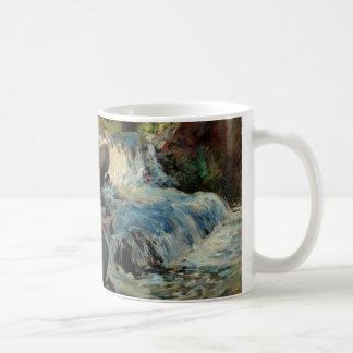 The Waterfall by John Henry Twachtman Mugs