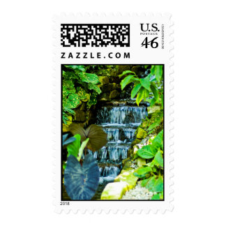 The Waterfall Postage Stamp