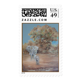'The Watering Hole'  by C. Sessarego ... Postage