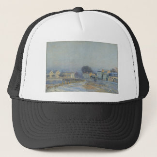 The Watering Place at Marly Le Roi Hoarfrost Trucker Hat