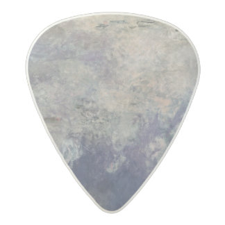 The Waterlilies - The Clouds  1915-26 Acetal Guitar Pick
