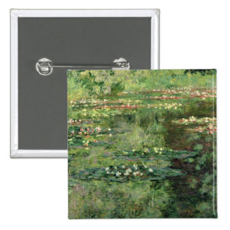 The Waterlily Pond, 1904 Pinback Button