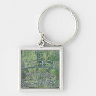 The Waterlily Pond: Green Harmony, 1899 Key Chain