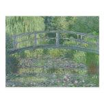 The Waterlily Pond: Green Harmony, 1899 Postcard