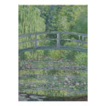 The Waterlily Pond: Green Harmony, 1899 Poster