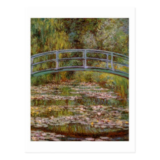 The Waterlily Pond postcard