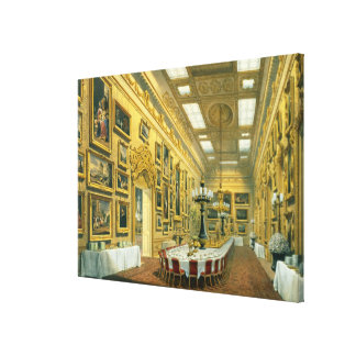 The Waterloo Gallery, Apsley House, reproduced in Canvas Print