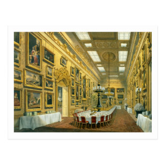 The Waterloo Gallery, Apsley House, reproduced in Postcard