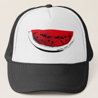 The watermelon ardently - Watermelon-Japanese Trucker Hat