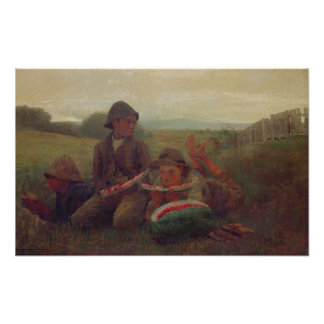 The Watermelon Boys, 1876 Poster