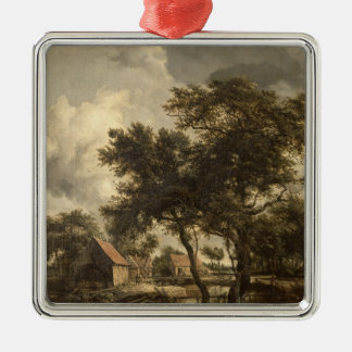 The Watermill, c.1660 Metal Ornament