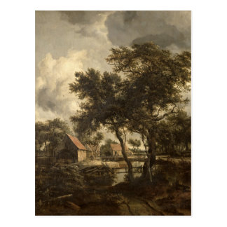 The Watermill, c.1660 Postcard