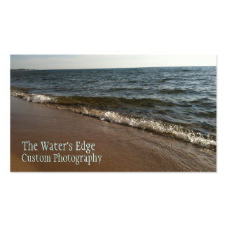 The Water's Edge Double-Sided Standard Business Cards (Pack Of 100)