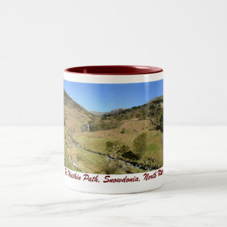 The Watkin Path, Snowdonia, North Wales mug