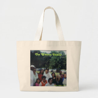The Watson Family Jumbo Tote Bag