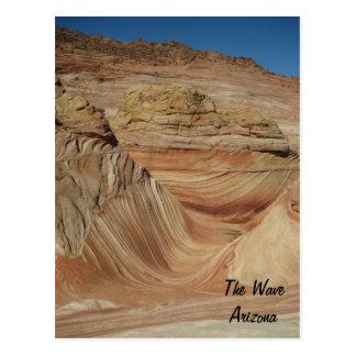 The Wave, Arizona Postcard