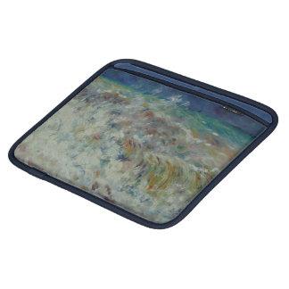 The Wave by Pierre-Auguste Renoir iPad Sleeve