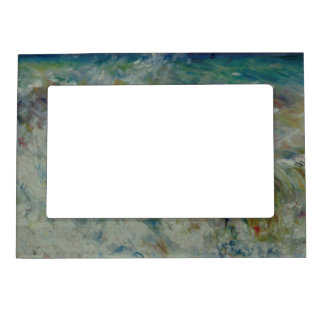 The Wave by Pierre-Auguste Renoir Magnetic Frame