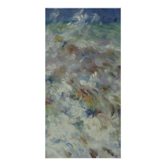 The Wave by Pierre-Auguste Renoir Picture Card