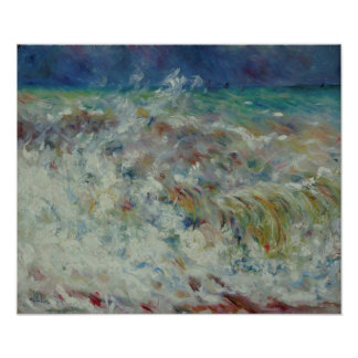 The Wave by Pierre-Auguste Renoir Photo Print