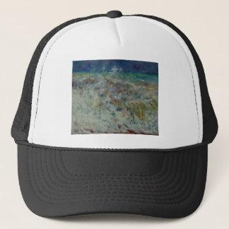 The Wave by Pierre-Auguste Renoir Trucker Hat