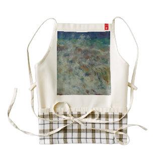 The Wave by Pierre-Auguste Renoir Zazzle HEART Apron