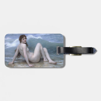 The Wave by William-Adolphe Bouguereau Bag Tag