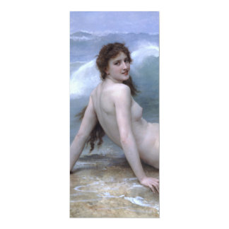 The Wave by William-Adolphe Bouguereau Card