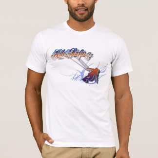 The wave. Kite surfing shirt