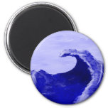 The Wave Refrigerator Magnets